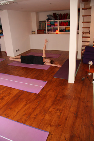 yoga studio photo